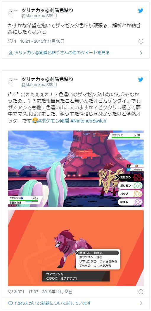 ザマゼンタ 性格 ポケモン剣盾